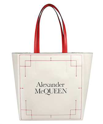 Alexander McQueen 648231 1YB18 SIGNATURE SHOPPER SHOULDER Tasche