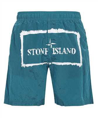 Stone Island B0992 NYLON METAL STENCIL PRINT Shorts