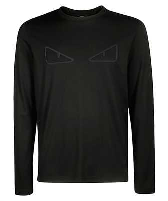 Fendi FAF541 A8JR EYES BUGS MESH T-shirt