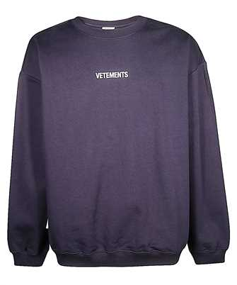 Vetements UAH20TR726 LOGO Sweatshirt
