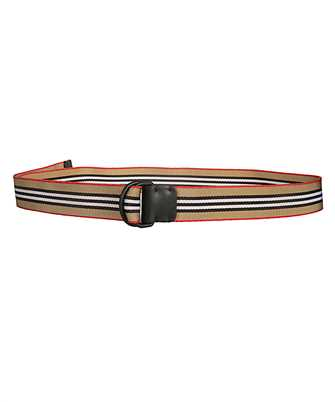 Burberry 8010425 ICON STRIPE DOUBLE D-RING Belt