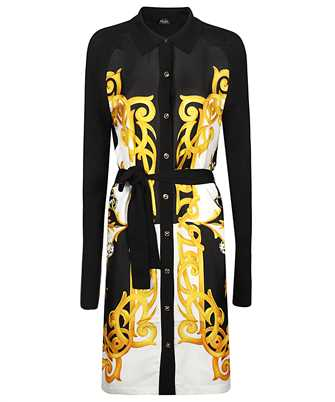 Versace A87141 A235895 BAROCCO ACANTHUS PRINT Dress