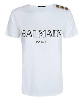 Balmain UF11350I367 VINTAGE LOGO T-shirt