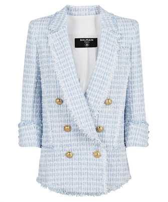 Balmain WF1SG090X490 TWEED DOUBLE-BREASTED Jacket