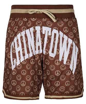 Chinatown Market 1880003 SMILEY CABANA BASKETBALL Shorts