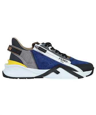 Fendi 7E1392 TC0 SUEDE LOW TOPS Sneakers
