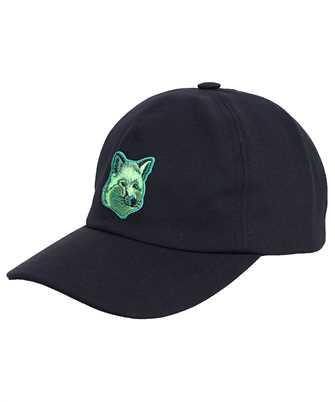 Maison Kitsune HU06158WW0007 COOL TONE FOX HEAD PATCH Cap