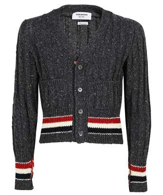 Thom Browne MKC357A Y1502 MIXED CABLES CLASSIC FIT Cardigan