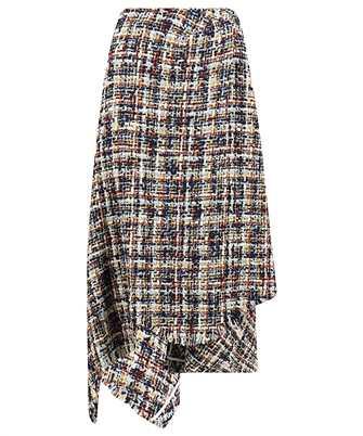 Lanvin RW ST424U 4602 A20 ASYMMETRIC WRAP Skirt