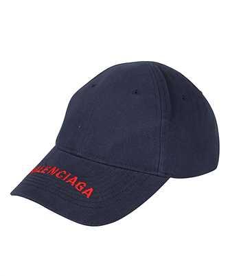 Balenciaga 531588 410B7 LOGO Cappello