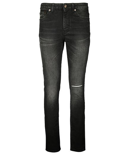 Saint Laurent 535156 YK869 SKINNY MEDIUM WAIST Jeans