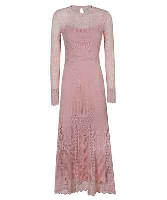 Alexander McQueen 650280 Q1ASF PATCHWORK LACE KNITTED Dress