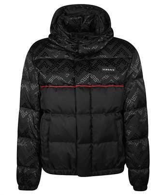 Versace A87349 A226597 GRECA ARGYLE ACCENT Jacket
