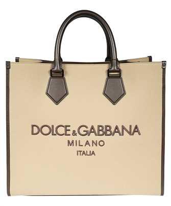 Dolce & Gabbana BM1796 AO997 EMBROIDERED LOGO SHOPPING Tasche