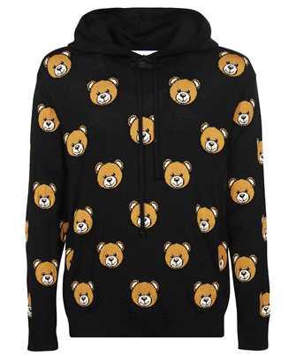 Moschino V 0922 5200 ALLOVER TEDDY BEAR Hoodie