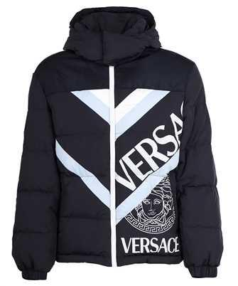 Versace 1001034 1A00691 LOGO PUFFER Jacket