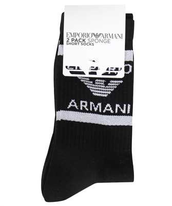 Emporio Armani 303122 1P300 2 PACK KNIT SHORT Socks