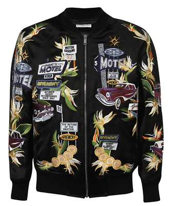 Givenchy BM00P81Y9H MOTEL EMBROIDERED Jacket