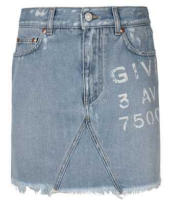 Givenchy BW40GL50D1 DESTROYED MINI Skirt