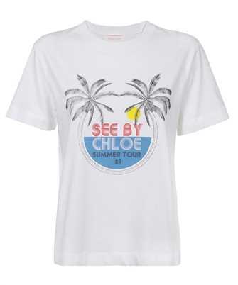 See By Chloè CHS21UJH18111 SUMMER TOUR PRINT T-Shirt