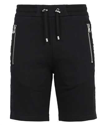 Balmain VH0OA000B072 EMBOSSED LOGO Shorts