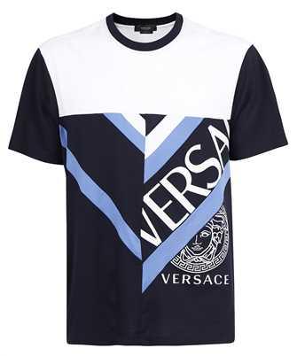 Versace 1001412 1A01041 LOGO EMBROIDERY T-shirt