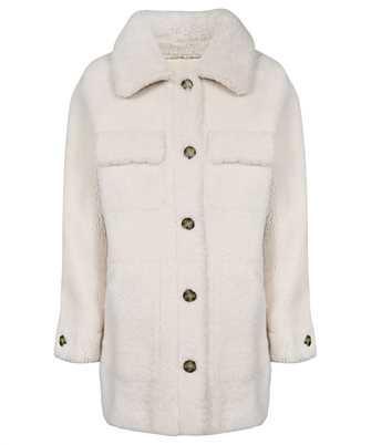 Yves Salomon 22W22WMM60491 MECL MERINO CURLY LAMB Coat