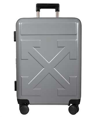 Off-White OMNG005R20F61023 GREY QUOTE Suitcase