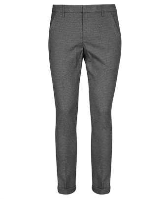 Don Dup UP235 QS0137U BV4 SOFT PIED Trousers