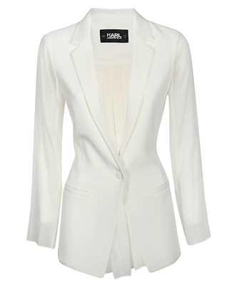 Karl Lagerfeld 201W1404 PLEATED BACK Jacket
