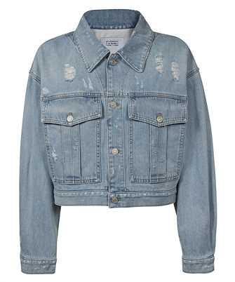 Givenchy BW00BT50D1 SHORT DESTROYED DENIM Jacket