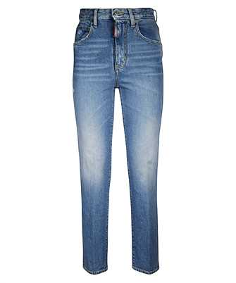 Dsquared2 S72LB0216 S30667 MEDIUM HAZE TIGHT CROPPED Jeans