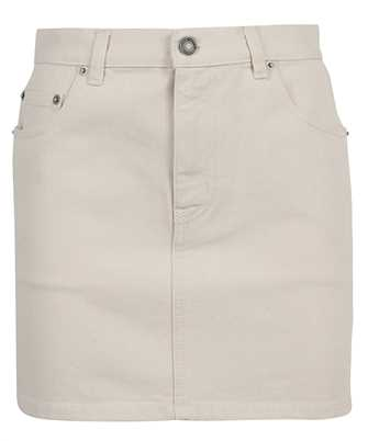 Saint Laurent 614463 Y23NE SOFT LIGHT DENIM MINI Skirt