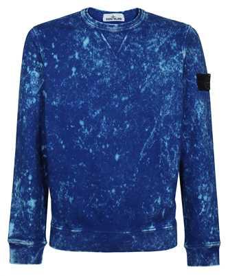 Stone Island 61538 COTTON FLEECE + OFF-DYE OVD TREATMENT Sweatshirt