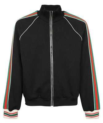 Gucci 662270 XJDE9 GG JACQUARD JERSEY ZIP Jacket