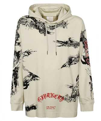 Givenchy BM715S3Y6B GOTHIC OVERSIZED T-shirt