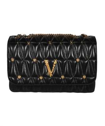 Versace DBFH822 1A00800 VIRTUS STUDDED QUILTED SHOULDER Bag