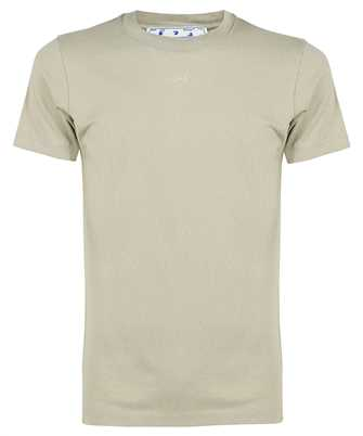 Off-White OMAA027F21JER007 RUBBER ARROW S/S SLIM T-shirt
