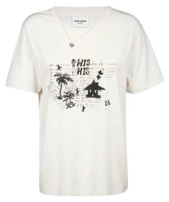 Saint Laurent 605229 YBQG2 T-shirt
