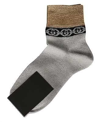 Gucci 609345 3GF05 INTERLOCKING G CHAIN Socks