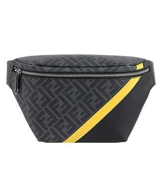 Fendi 7VA434 A9XS FF MOTIF CANVAS Belt bag