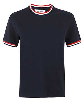 Thom Browne FJS068A 00050 RIB TRIMS T-shirt