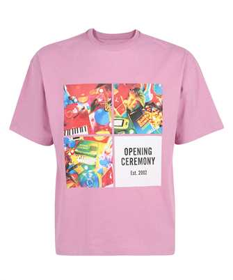 Opening Ceremony YMAA001S21JER006 BOXES PRINT REGULAR T-shirt