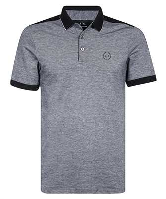 Armani Exchange 8NZF76 Z8M5Z CONTRAST PROFILES Polo