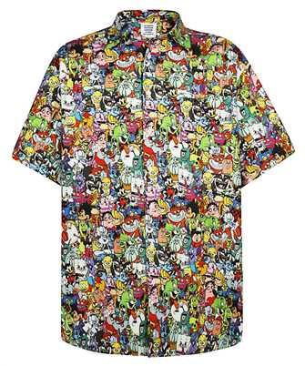 Vetements SH284 ALL-OVER MONSTER Shirt