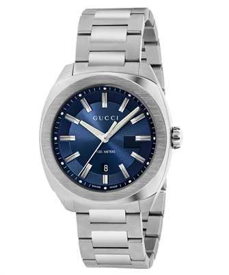 Gucci Timepieces YA142303 142LG DK BLU G/STL CLA/BCLT 41mm Armbanduhr