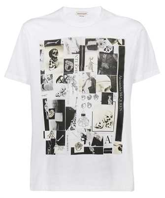 Alexander McQueen 662589 QRZ75 SKULLS PRINT T-Shirt