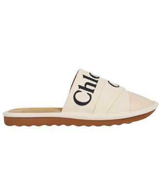 Chloé CHC21A489R4 WOODY MULE Slides