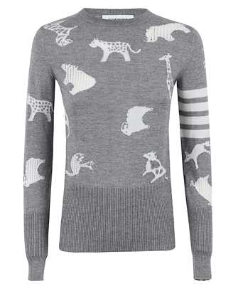 Thom Browne FKA291A 00014 MULTI ANIMAL Strick