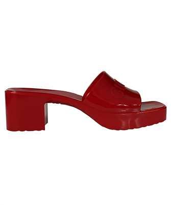 Gucci 624730 J8700 RUBBER SLIDE Sandals